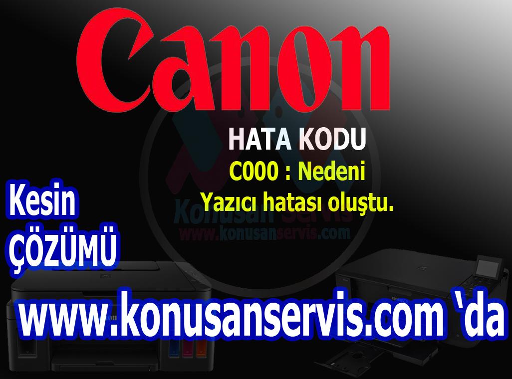 canon hada kodları Konuşan servis