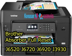 Brother MFC-j3930 Absorber Full Reset How To