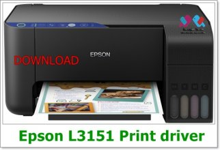 Epson L3151  Driver Download win 10 64 Bit